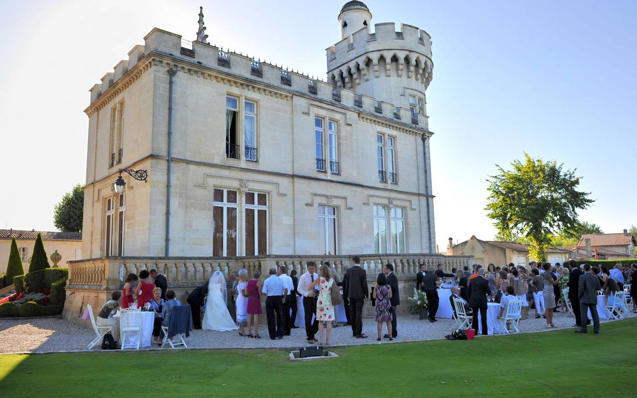 Wedding venue Bordeaux chateau