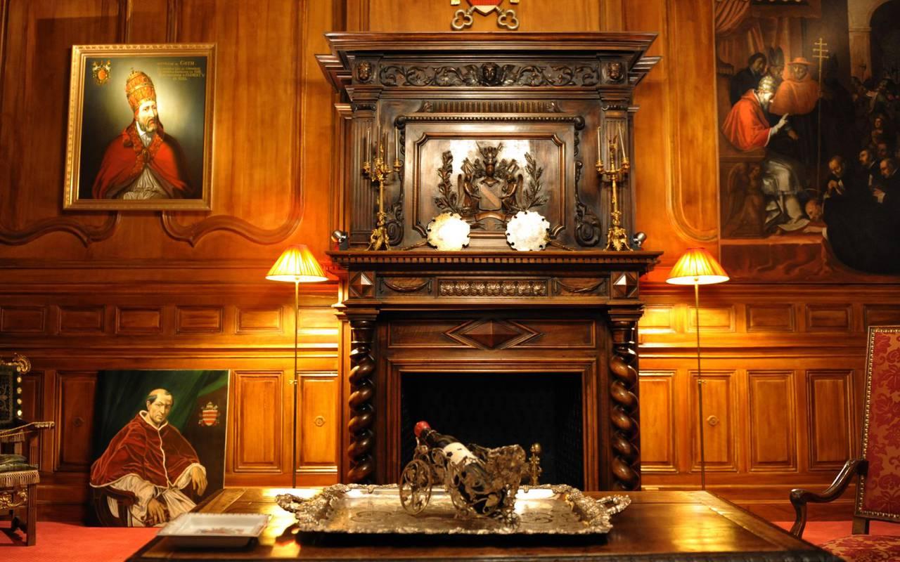 Le salon des papes meeting room rental in bordeaux for Le salon chatou