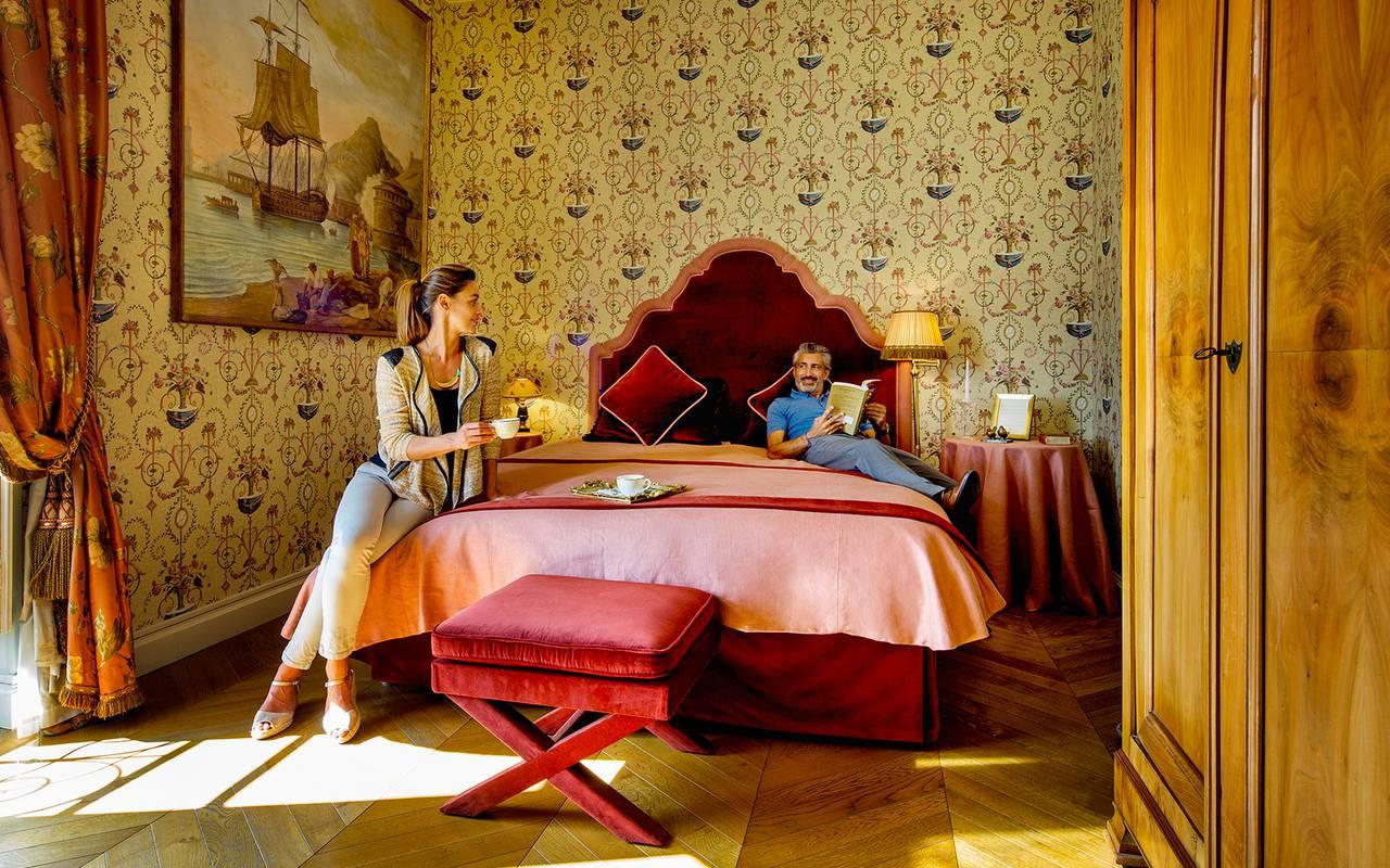 chambre hotel luxe bordeaux serenite