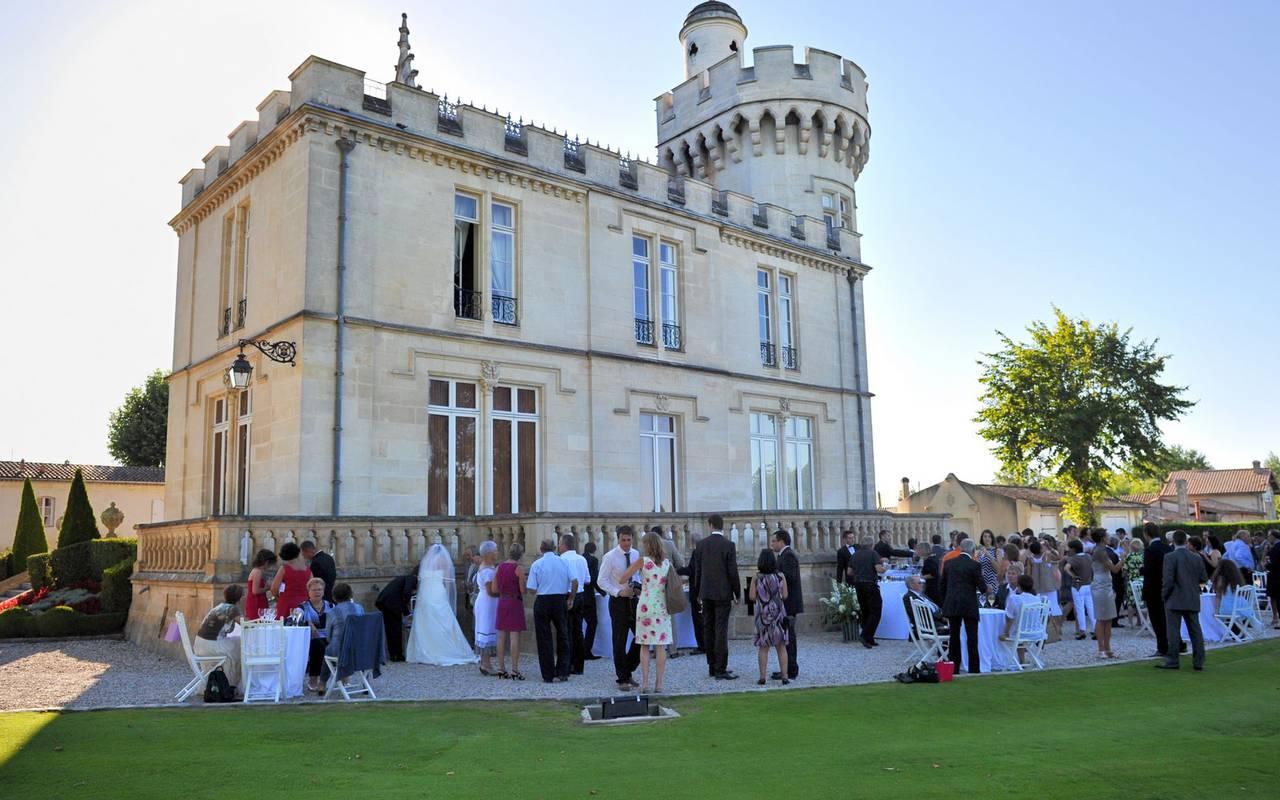 Chateau mariage Bordeaux